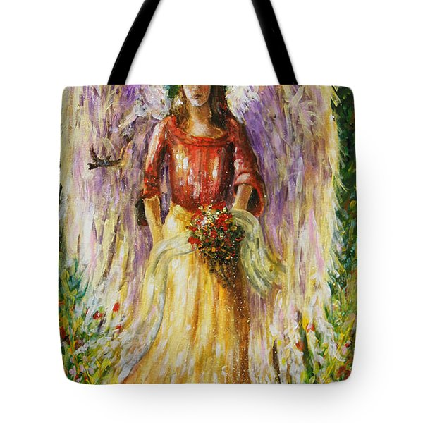 Summer Angel Tote Bag