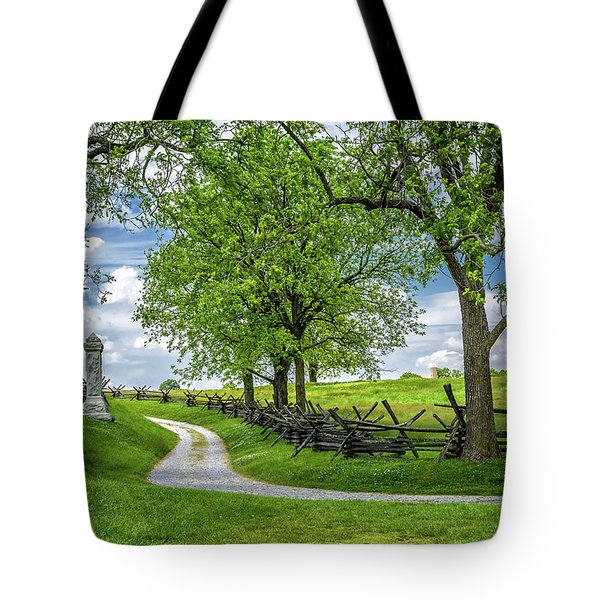 Tote Bag featuring the photograph Summer At Antietam National Battlefield by Lori Coleman