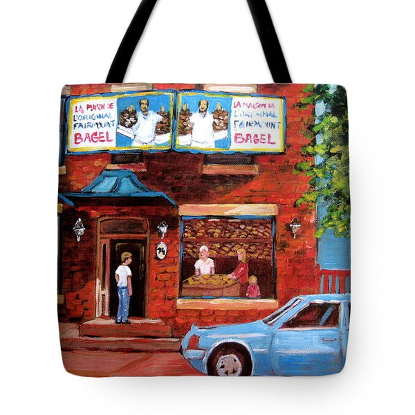 Summer At Fairmount Tote Bag by Carole Spandau