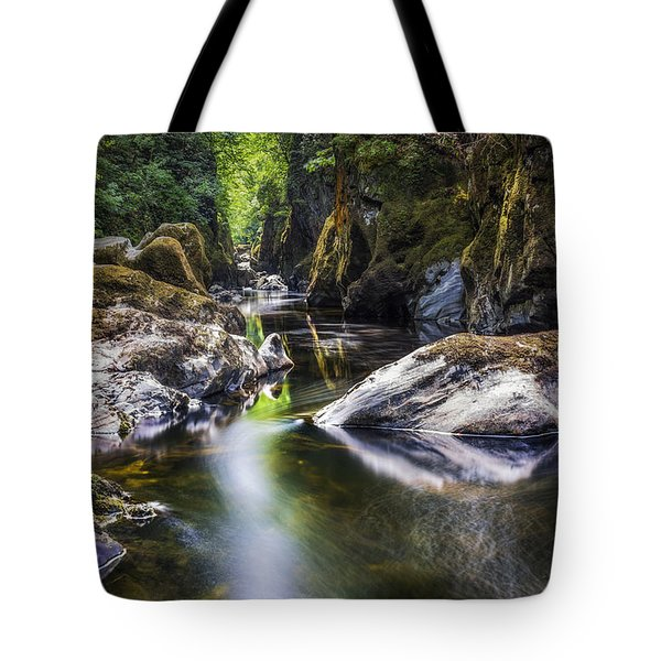 Summer At Fairy Glen Tote Bag by Ian Mitchell