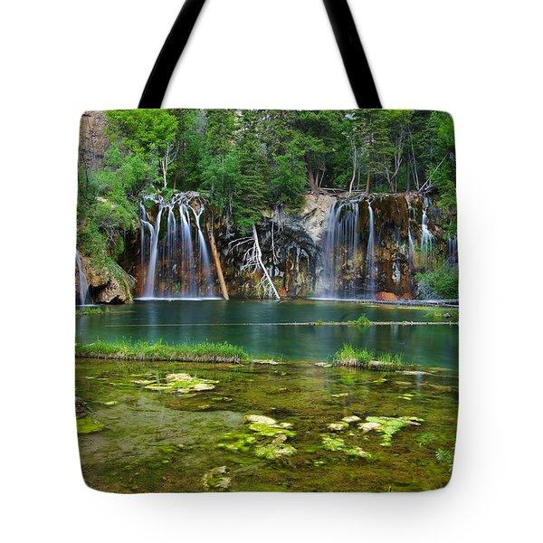 Summer At Hanging Lake Tote Bag