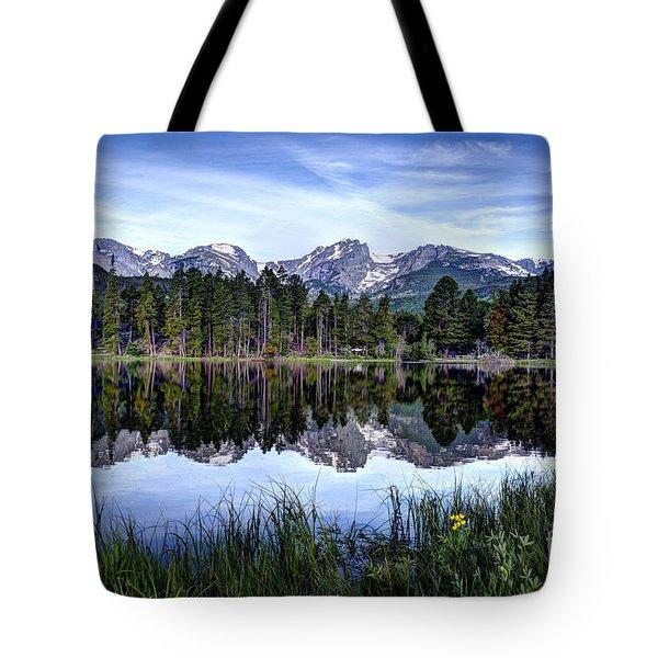 Summer At Sprague Lake  Tote Bag