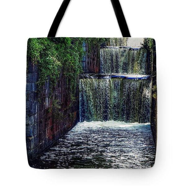 Summer At The Five Combines Tote Bag