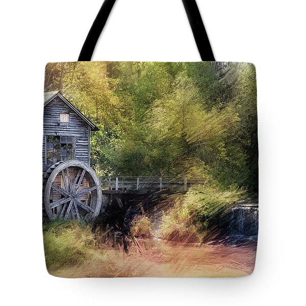 Summer At The Mill Tote Bag