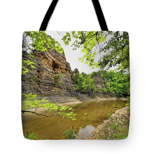 Tote Bag featuring the photograph Summer At The Pinnacles by Cricket Hackmann