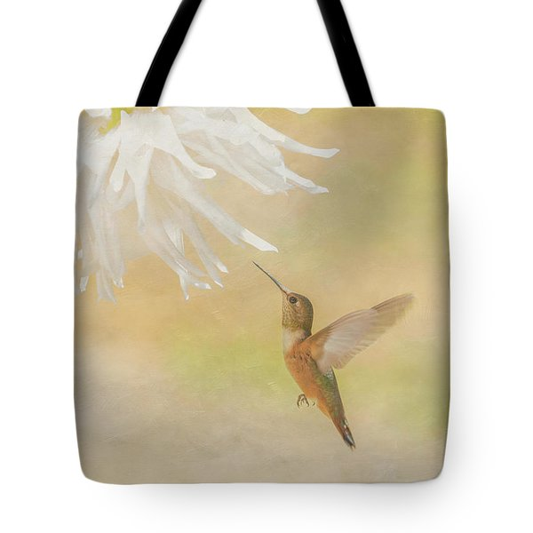 Tote Bag featuring the photograph Summer Ballet by Angie Vogel