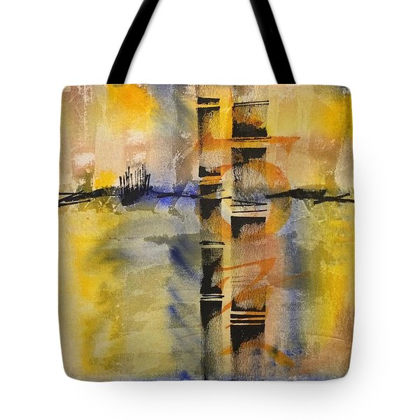 Summer Bamboo  Tote Bag