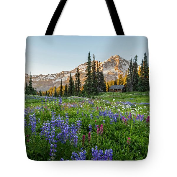 Summer Beauty At Indian Henry's Hunting Ground Tote Bag