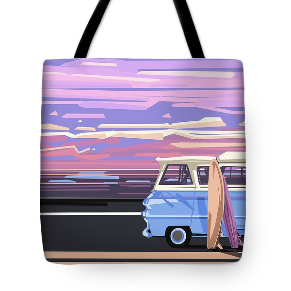 Summer Tote Bag by Bekim Art