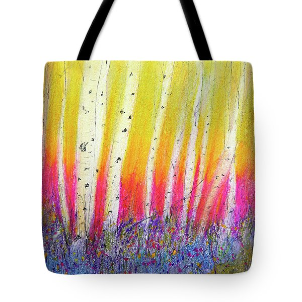 Summer Birch  Tote Bag