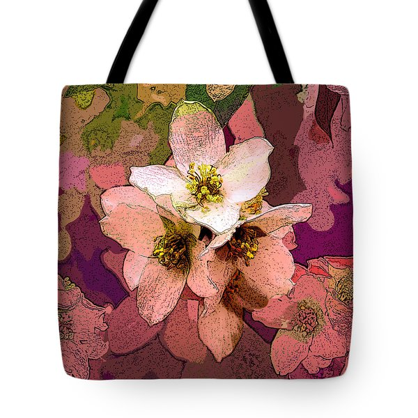 Summer Blossom Tote Bag