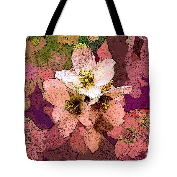 Summer Blossom Tote Bag by David Pantuso