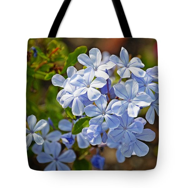 Summer Blue Tote Bag by Linda Brown