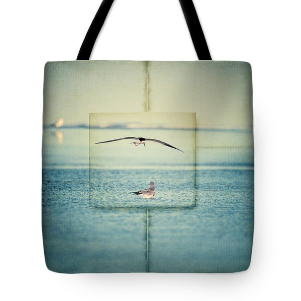 Summer Blue Tote Bag