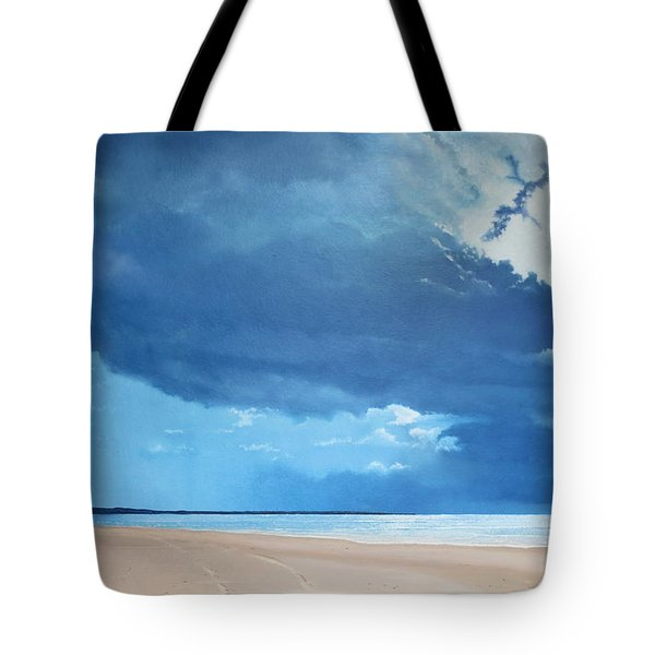 Summer Blues Tote Bag by Paul Newcastle