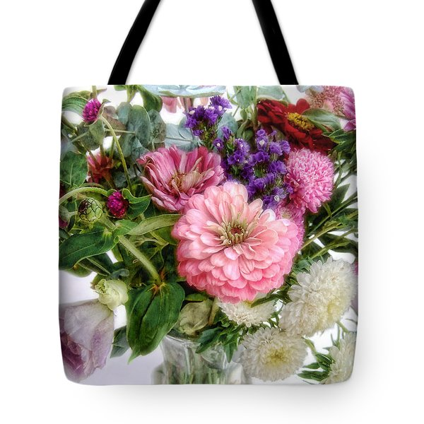 Summer Bouquet Tote Bag by Louise Kumpf
