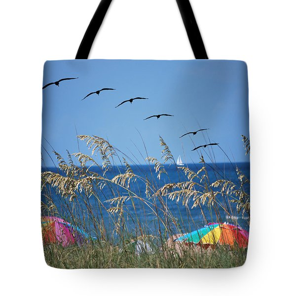 Summer Breeze Tote Bag by Adele Moscaritolo