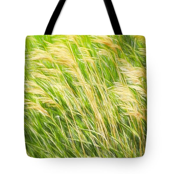 Summer Breeze In The Grass Tote Bag