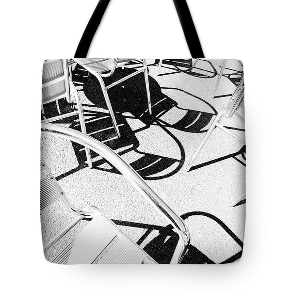 Summer Chair Pattern Tote Bag