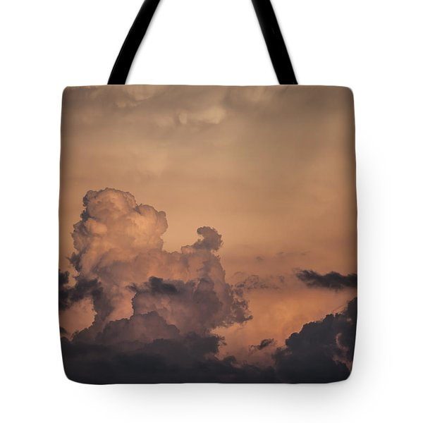 Summer Clouds Tote Bag by Ray Congrove