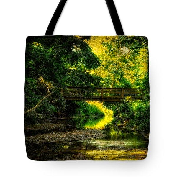 Summer Creek Tote Bag by Thomas Woolworth