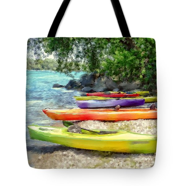 Tote Bag featuring the photograph Summer Day Fun by Mary Timman