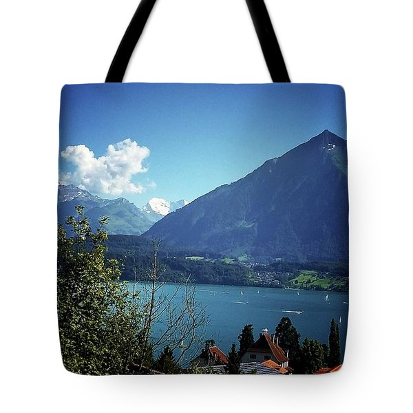 Tote Bag featuring the photograph Summer Day by Mimulux patricia no No