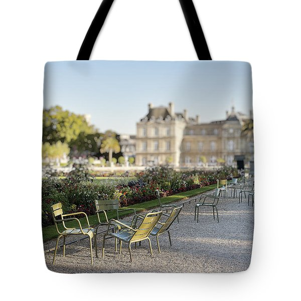 Summer Day Out At The Luxembourg Garden Tote Bag
