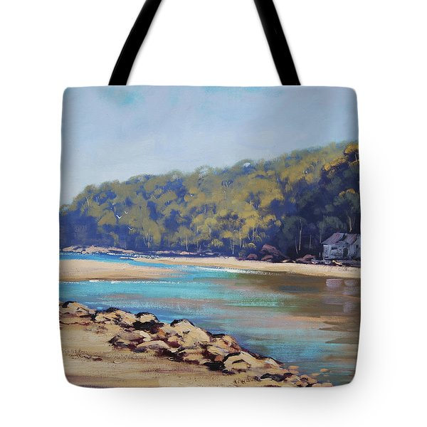 Summer Day Patonga Nsw Australia Tote Bag
