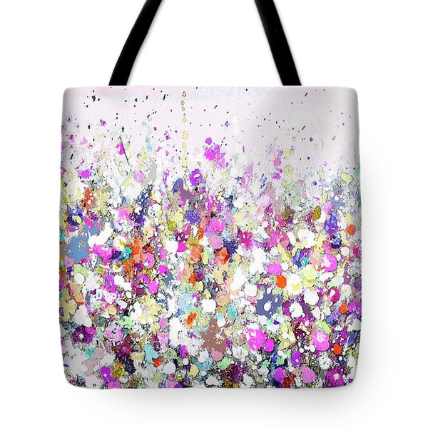 Summer Days Pink Tote Bag