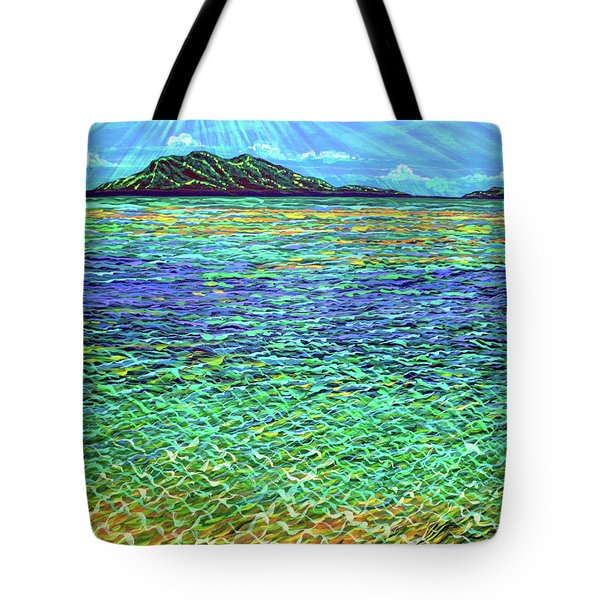 Summer Tote Bag by Debbie Chamberlin