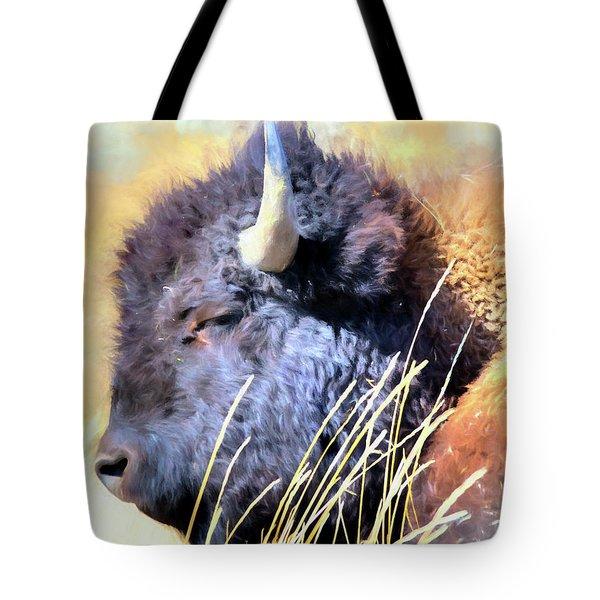 Summer Dozing - Buffalo Tote Bag