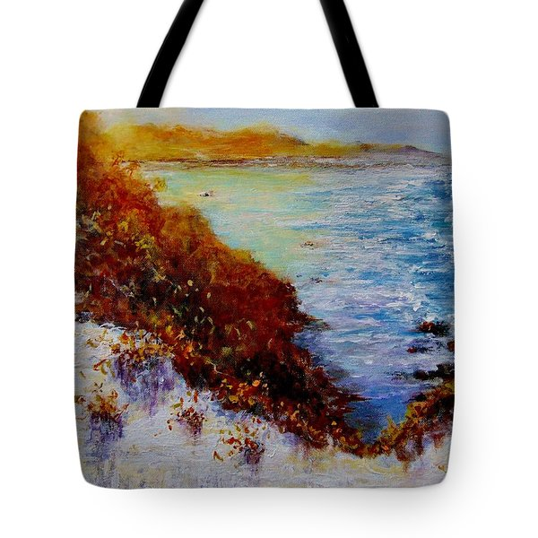 Tote Bag featuring the painting Summer Dream.. by Cristina Mihailescu