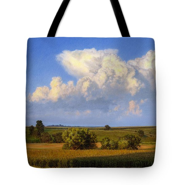 Summer Evening Formations Tote Bag