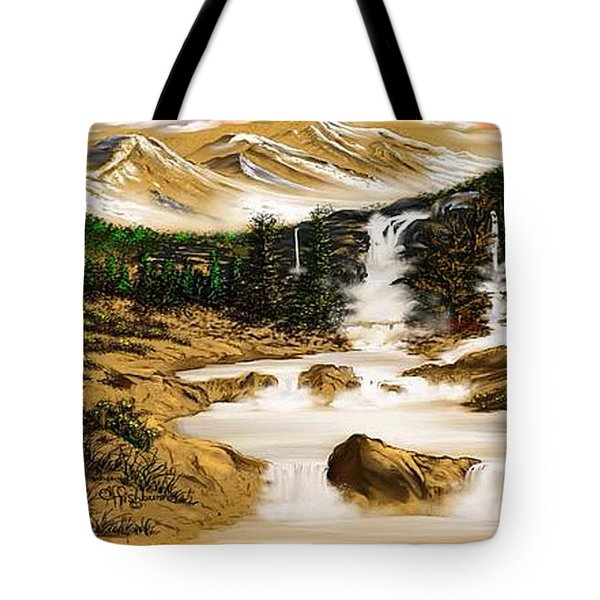 Summer Evening Glow Tote Bag by Anthony Fishburne