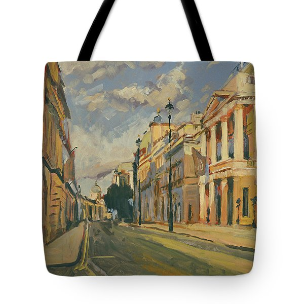 Summer Evening Pall Mall London Tote Bag