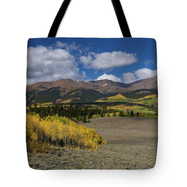 Summer Falls Into Autumn - Mt. Elbert, Colorado Tote Bag