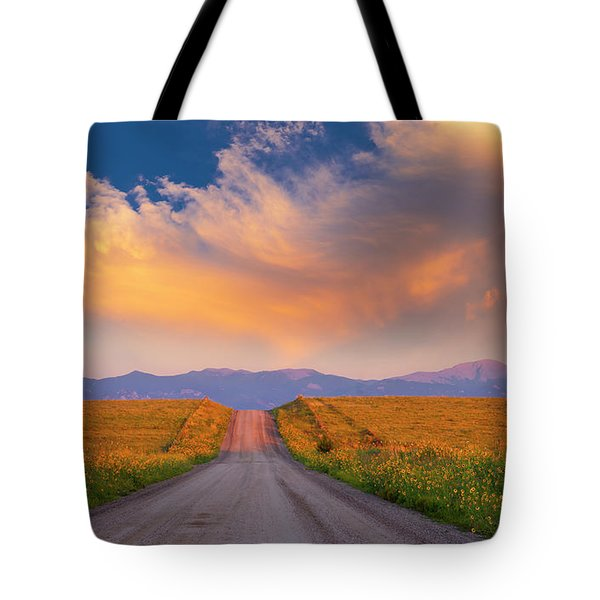 Tote Bag featuring the photograph Summer Fantastic by Tim Reaves