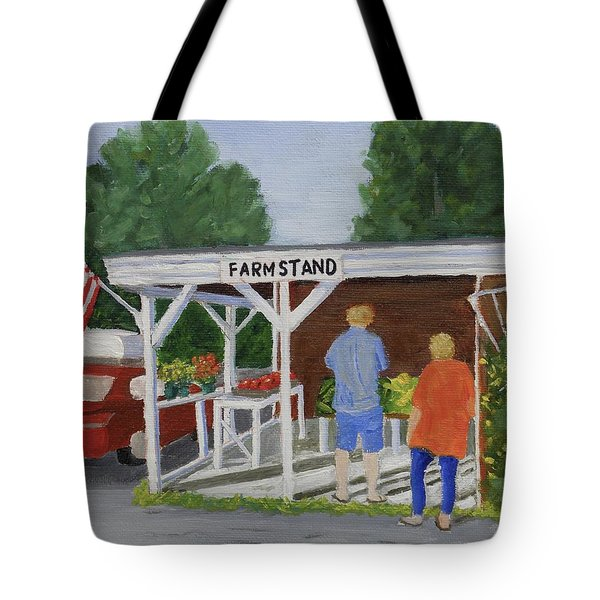 Summer Farm Stand Tote Bag