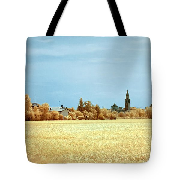 Tote Bag featuring the photograph Summer Field by Helga Novelli