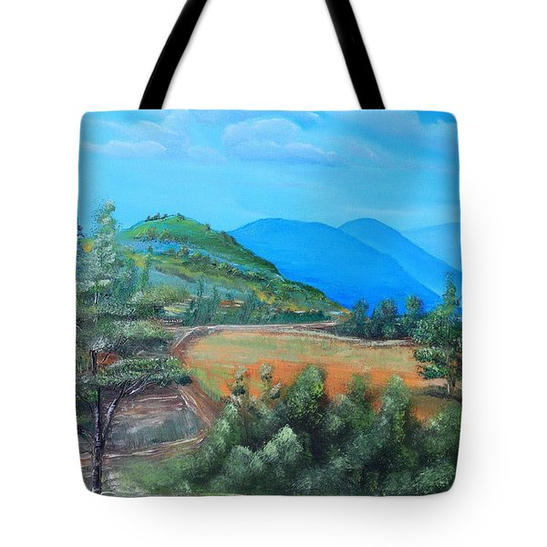 Summer Fields 2 Tote Bag