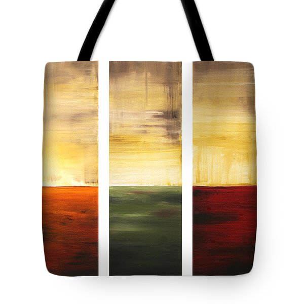 Summer Fields By Madart Tote Bag by Megan Duncanson