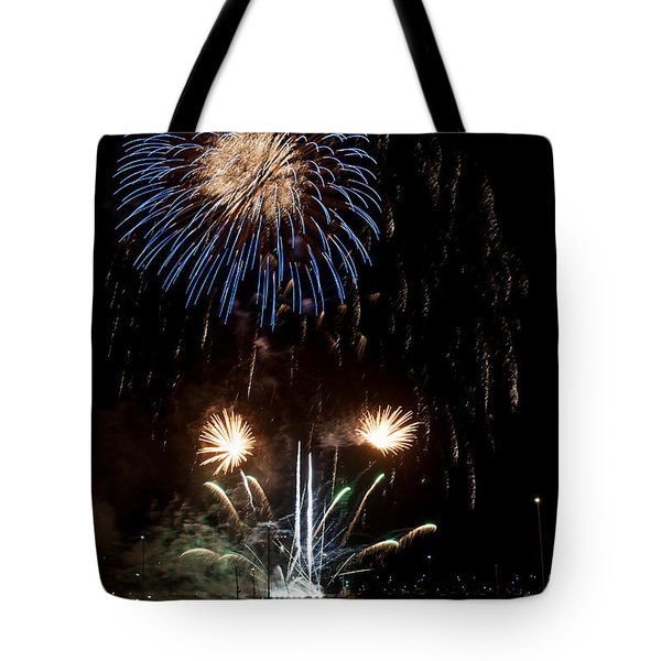 Summer Fireworks I Tote Bag