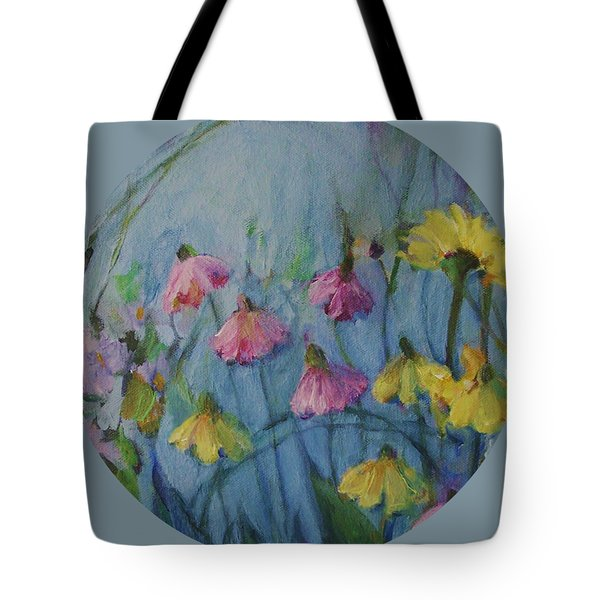 Summer Flower Garden Tote Bag