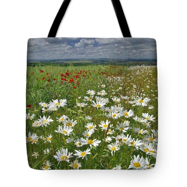 Summer Flower Meadows Tote Bag