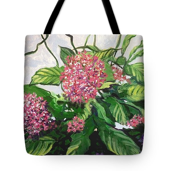 Summer Flowers 2 Tote Bag