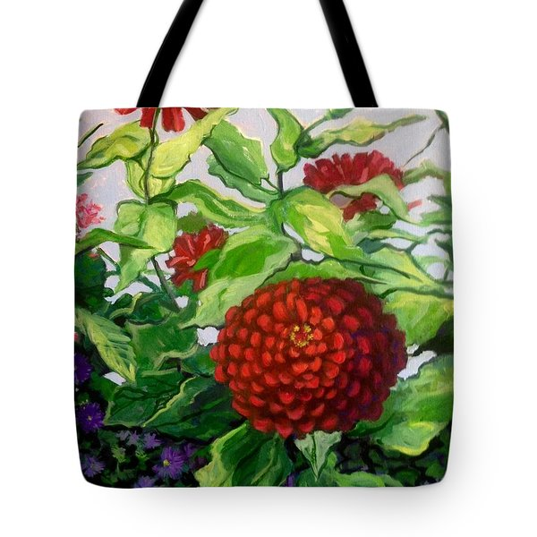 Summer Flowers 3 Tote Bag