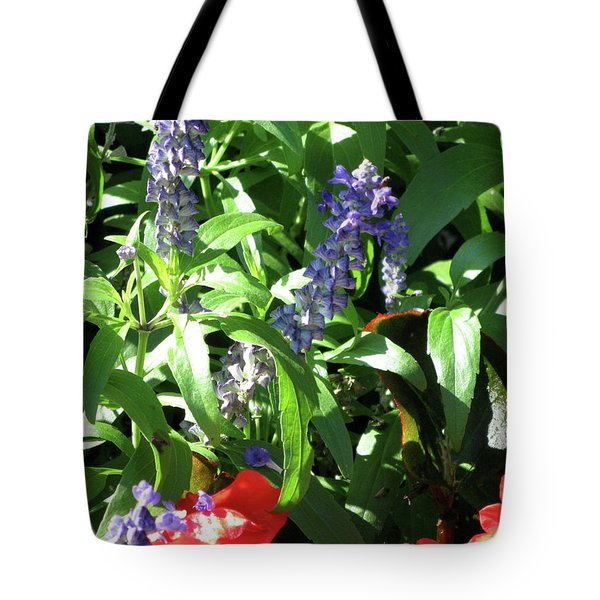 Summer Flowers Tote Bag by Michele Wilson