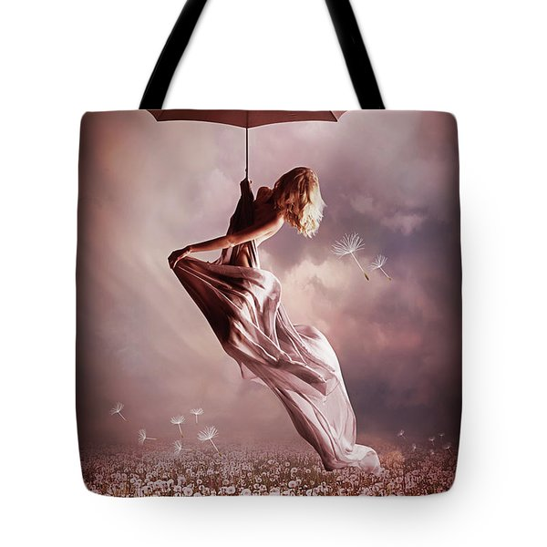 Summer Fly Tote Bag