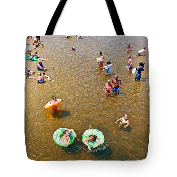 Summer Fun At Duck Creek Tote Bag